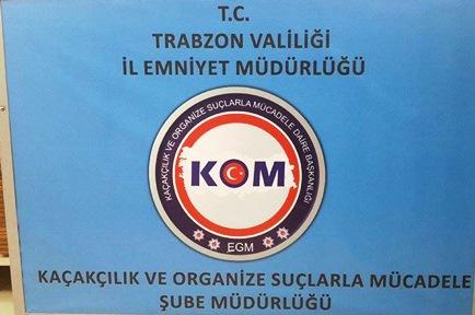 Trabzon'da torbacı baskını