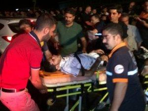 Trafik kazasında 15 kişi yaralandı!