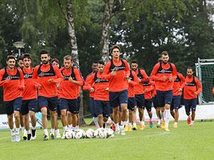 Trabzonspor hazırlıklarını sürdürdü!