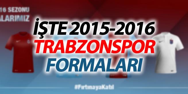Trabzonspor 2015-2016 formalarını duyurdu