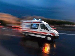 Trabzon'da acı kaza: Sadece yürüyordu!