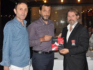 Trabzonspor Differdange dostluk yemeği!