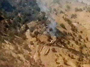 PKK, Silopi'de iş makinesi yaktı!