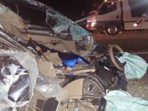 Yola çıkan hayvan kazaya neden oldu: 2 ölü, 7...