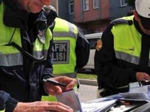 Trabzon'da 97 sürücüye ceza!