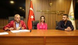 Iraklı ile Amerikalı Türkiye'de evlendi