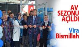 Trabzon'da av sezonu açıldı