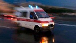 Trabzon'dan yola çıktı kaza yaptı