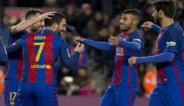 Barcelona - Hercules maçının golleri! Arda Turan...