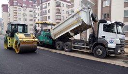 Trabzon'da asfaltlama çalışmaları!