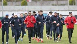 Trabzonspor Kızılcabölük maçına hazır