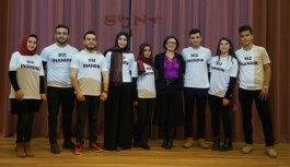 """Trabzon'da """"Biz İnandık"""" projesi gerçekleştirildi"""