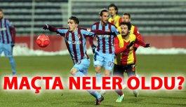 Trabzon Kızılcabölük maçından kareler