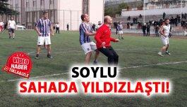 Bakan Soylu vurdu gol oldu