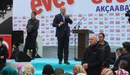 """Soylu: """"Türk Milletine tabii olacaksınız"""""""