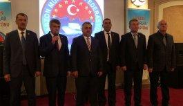 Muhtarlar Trabzon'da toplandı, birlik mesajı...
