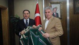 Başdenetci Malkoç'tan Başkan Memiş'e ziyaret