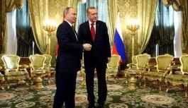 Cumhurbaşkanı Erdoğan ile Putin arasında kritik...