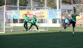 Giresunspor'da Yeni Malatyaspor maçı hazırlıkları...
