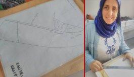 Trabzon'da erkek egemen sektörde kadın eli