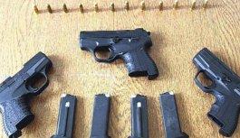 Trabzon'da kaçak silah ve sahte para yakalandı!