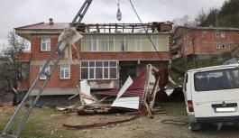 Trabzon'da hasar tespit yapıldı: 207 konut...