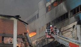 Son dakika! Trabzon'da fabrika yangını sürüyor