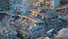 Bugün 17 Ağustos Marmara Depreminin yıl dönümü