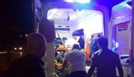 Otomobil Motosiklete çatptı : 1 ölü 1 yaralı