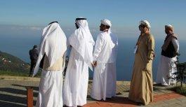 Yaylalara Arap turist ilgisi