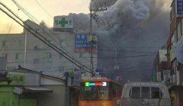 Hastanede yangın: 41 ölü!