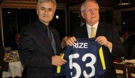Aziz Yıldırım: Rizelinin çoğu Fenerbahçelidir