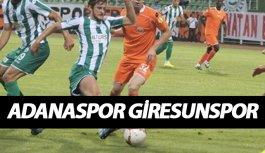 Adanaspor Giresunspor canlı yayını hangi kanalda?