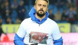 Trabzonspor ısınmaya bu tişörtle çıktı