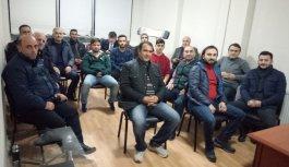 Van Trabzonsporlular Derneği yönetimi üyeleri ile...