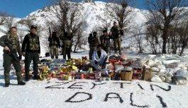 Bingöl'de operasyondaki askerlerden Afrin'e...