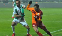 Galatasaray ile Konyaspor berabere kaldı