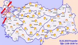 Trabzon'da hava nasıl olacak? 01.02.2018