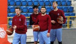 Trabzonspor basketbol, Sakarya maçına hazırlanıyor