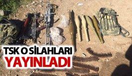 TSK o silahları yayınladı