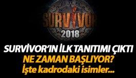 Survivor 2018 ne zaman başlıyor? İşte ilk tanıtım...
