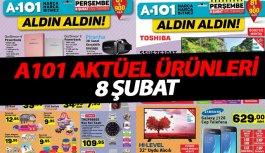 A101 Aktüel ürünleri - 8 Şubat Perşembe A101...