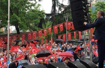 Muharrem İnce Trabzon'da Erdoğan'a seslendi