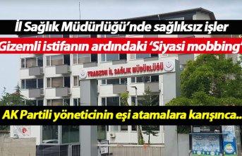 Trabzon İl Sağlık Müdürlüğü'nde sağlıksız...