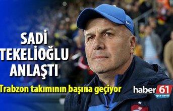 Sadi Tekelioğlu anlaştı! Trabzon takımının başına...