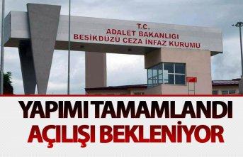Trabzon'da yapılan yeni cezaevinin açılışı...