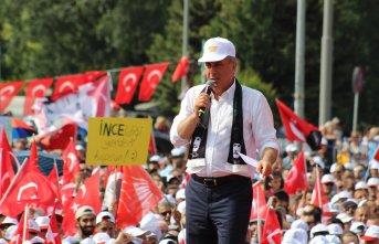 Muharrem İnce: Bedava kek yemek isteyen Erdoğan'a...