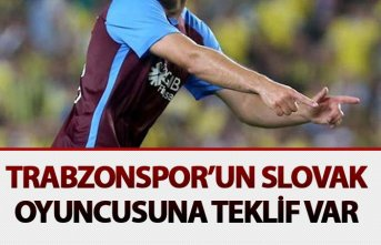 Trabzonspor'un Slovak oyuncusuna teklif var
