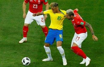 Dünya Kupası'nda bir şok da Brezilya'ya