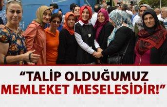 """Bahar Ayvazoğlu: """"Talip olduğumuz memleket meselesidir!"""""""